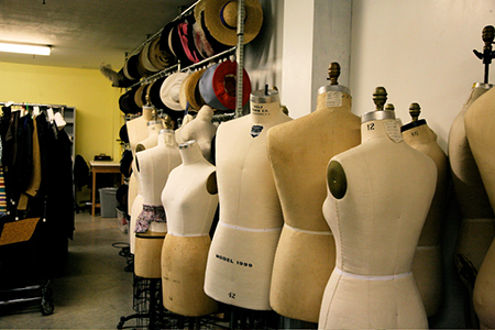 Costume and Make-up Facilities